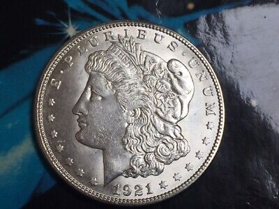 1921-S  Morgan  Silver Dollar  ** AU to UNCIRCULATED  ** GREAT SILVER INVESTMENT