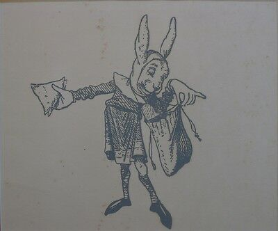 March Hare Lithograph Carroll Through The Looking Glass Alice In Wonderland