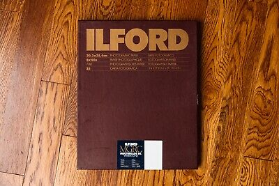 Ilford Multigrade RC Warmtone 8x10 25 sheets