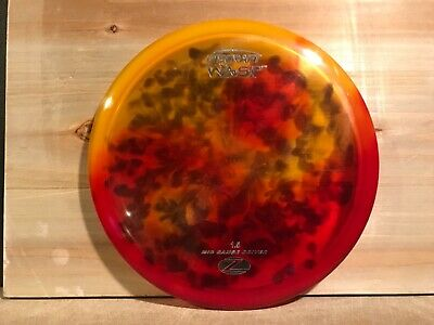 Jake's DYED Discraft Elite Z WASP with Patent # 174 g 5/5/0/3 Slightly used