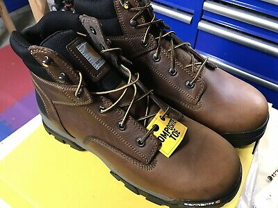 56ec50acfc6 CARHARTT GROUND FORCE 6 Inch Work Boot Composite Toe Mens 11W CME6354