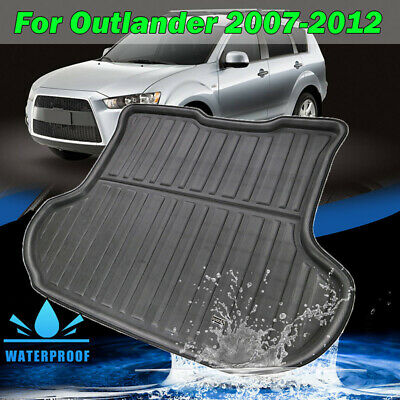 Boot Liner Cargo Tray Rear Trunk Floor Mat For Mitsubishi Outlander 2007-2013