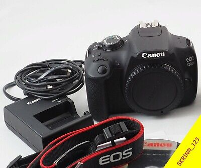 VERY GOOD USED Working Canon Rebel T5 EOS 1200D 18-55 mm