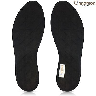 STOP FOOT ODOR & SHOE ODOR FAST. All Natural Cinnamon Insoles - FREE SHIPPING