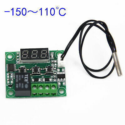 -50-110°C Temperature Control Module Controller Relay Heat Cool Useful