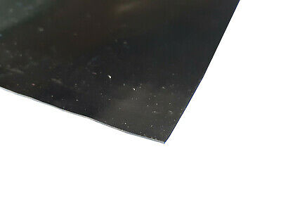 Neoprene General Purpose Rubber Sheet Black Smooth 0.8mm thick, A2, A1 & A0