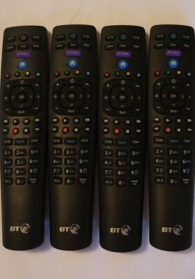 LOT of 10 x NEW Genuine BT YouView Remote Control RC3124705/04B Latest Version