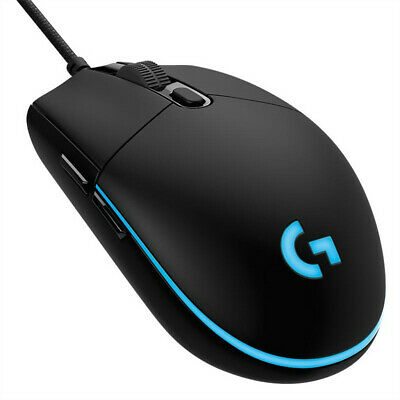 Logitech G Pro Wired Gaming RGB Mouse 12000DPI 6 Keys Programmable Optical Mice