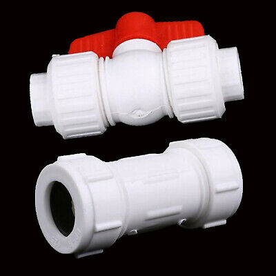 20/25/32mm Water Pipe fitting Stop Tap Valve Connector PPR Tube Ball Valves Acc