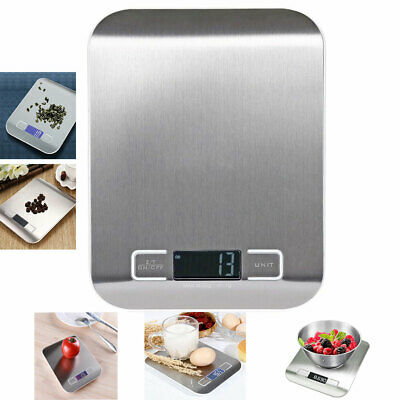 5kg/1g LCD Digital Electronic Balance Scale Food Weight Postal Scales Kitchen AU
