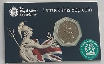 2019 50p coin Strike Your Own Britannia fifty pence Royal Mint Tour Exclusive K3
