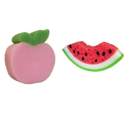 Fun fruit shape sponges super absorbent and practical PVA sponge hard wearing