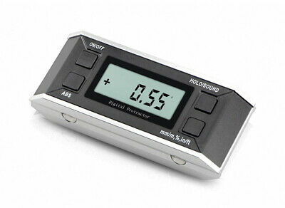 High-precision 0.05 Digital Magnetic Protractor Angle Inclinometer Large Screen