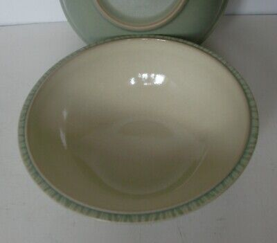 Denby Light Green CALM Cereal/Soup Bowl  18cm diameter