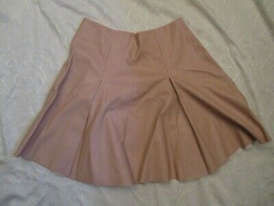 Girls Pink Faux Leather Skirt Age 10 Years River Island