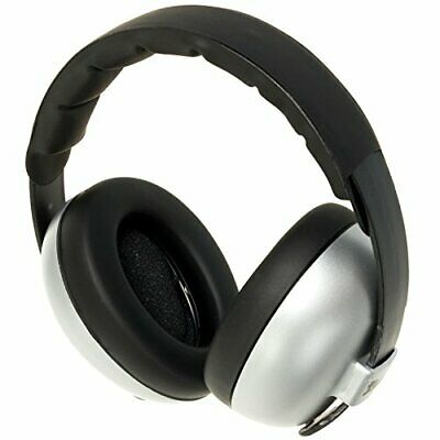 Kids Banz Baby Ear Defenders / Ear Muffs Silver 3 Months+ FREE P+P RRP £20