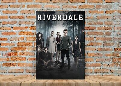 Riverdale TV Show Poster Canvas Art Print (Framed Option) - A3 A4