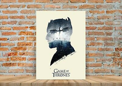 Game Of Thrones TV Show Poster Canvas Art Print (Framed Option) - A3 A4