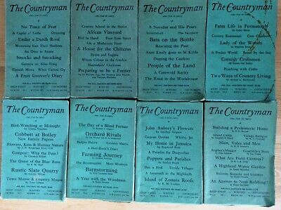 The Countryman Magazine- Collection of 12 1950s Editions