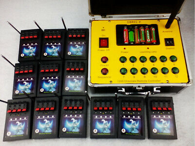 48 cues fireworks firing system wireless Remote control 500M distance Profession
