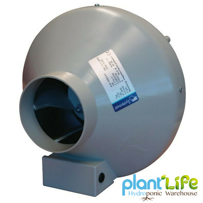 Systemair RVK In Line Turbo Fan Hydroponics Ventilation