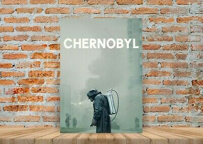 Chernobyl TV Show Poster Canvas Art Print (Framed Option) - A3 A4
