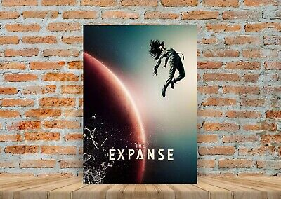 The Expanse TV Show Poster Canvas Art Print (Framed Option) - A3 A4