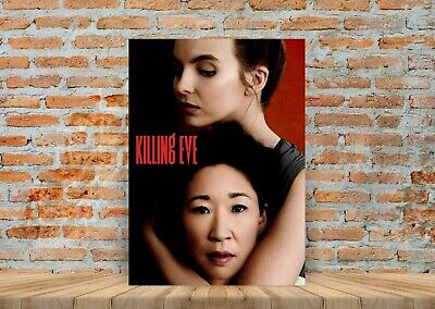 Killing Eve TV Show Poster Canvas Art Print (Framed Option) - A3 A4