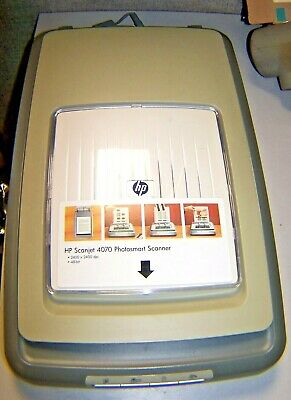 New Genuine Hp 4070 Flatbed Scanner With All Plugs
