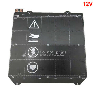 Assembled 3D Printer Parts Wiring Magnetic Plate Heated Bed Power Module MK52