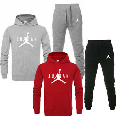 Jordan Men Women Hoodies Sweatshirt Full Tracksuit Set Jogging Sweat Suit Sport