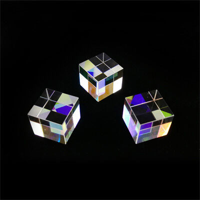 Optical Glass X-cube Dichroic Cube Prism RGB Combiner Splitter 12.7*12.7mm US