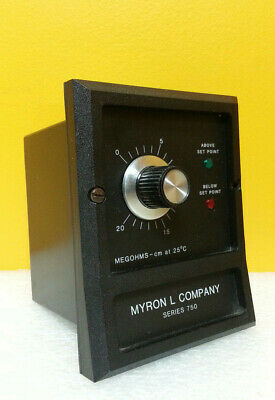Myron L. Co.750-1  0 to 20 Mohms / cm, Conductive Controller, Tested!