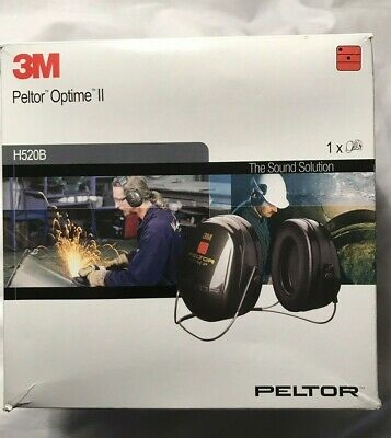 3M Peltor H520A Optime Ii Ear Defenders Neck Band Hearing Protection Snr 31Db.