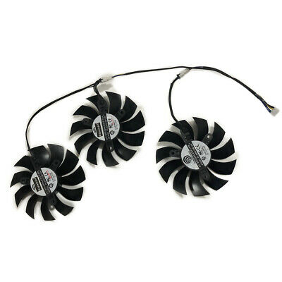 3Pcs/set Cooler Fan For EVGA GeForce GTX 1080 Ti FTW3 DT/ELITE/GAIMING Cooling