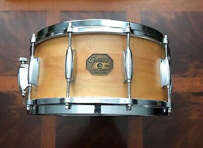 "1980 Gretsch 6.5""x14"" Snare Drum 4154W Natural Satin Finish 4154"