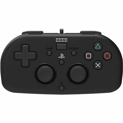 Hori Wired Controller Light Black For Sony Playstation 4 Ps4