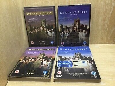 Downton Abbey Series 1 & 2 DVD TV Series New & Sealed