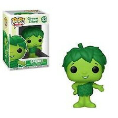 Sprout Green Giant Pop Ad Icons Vinyl Figure Funko New