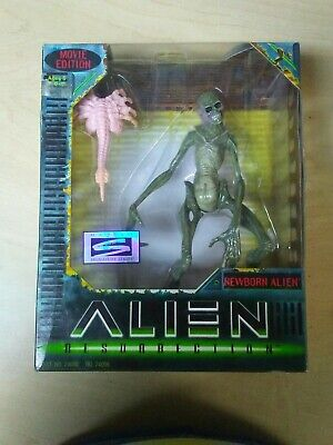 "Hasbro ALIEN RESURRECTION NEWBORN ALIEN 7"" Action Figure Movie Edition 1997"