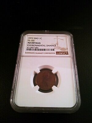 1972 Ddo Double Die Obverse Ngc Graded And Verified About Uncirculated