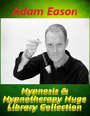 Adam Eason Hypnosis & Hypnotherapy Huge Library Collection