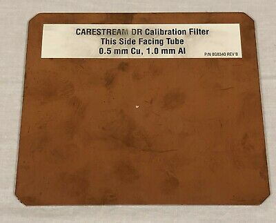 Carestream DR X-Ray Calibration Filter for QC Testing 8G8340