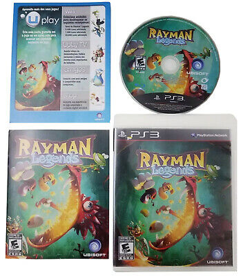 Rayman Legends PS3 Adventure Video Game (Sony Playstation 3) Includes Booklet