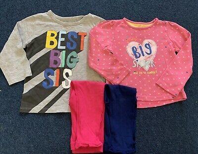 Big Sister Outfit Bundle Size 18-24 Months Next Mothercare Boots
