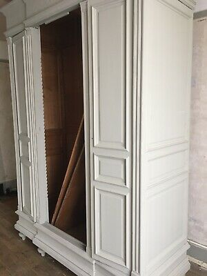 French Antique Armoire Wardrobe - Henri ll Style