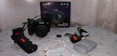 Canon sx540 hs Power Shot camera, memory card, free delivery