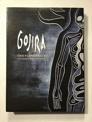 Gojira: The Flesh Alive 2 DVD/CD Limited Deluxe Version w/ Poster Included