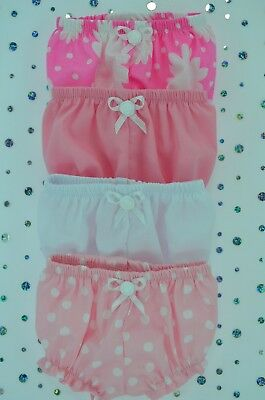 "Play n Wear Dolls Clothes 13""Little Baby Born/Mommy~14""Cabbage Patch 4x KNICKERS"