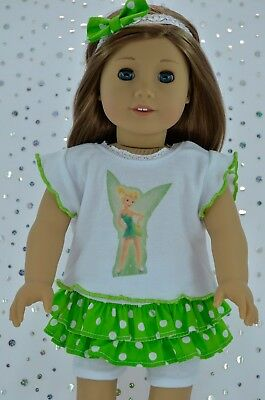 """Doll Clothes For 18"""" American Girl~Our Generation~JourneySKIRT/TIGHTS~TOP~H/BAND"""